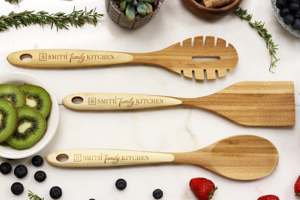 "Utensils - ""Initial & Family Name """