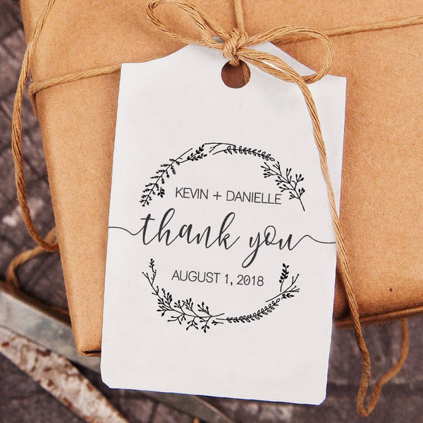 Thank You Wedding Stamp, DIY Wedding Thank You Stamp, Custom Wedding Stamp