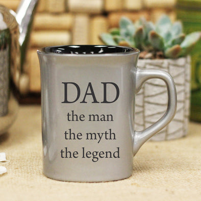"Ceramic Mug ""Dad - Man, Myth, Legend"""