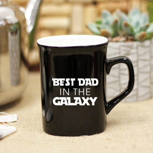 "Ceramic Mug ""Best Dad in the Galaxy"""