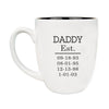 "Ceramic Mug ""Daddy Established"""