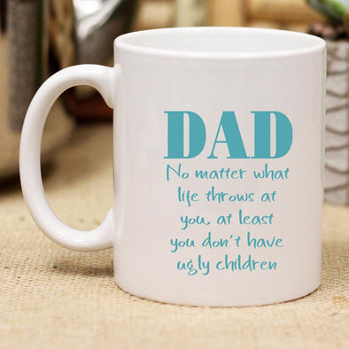 "Ceramic Mug ""DAD No Matter What"""