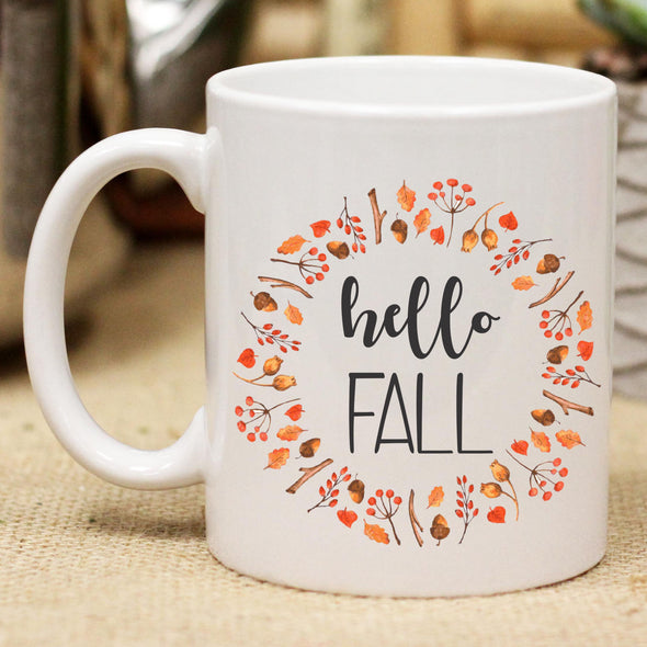 "Ceramic Mug ""Hello Fall"""