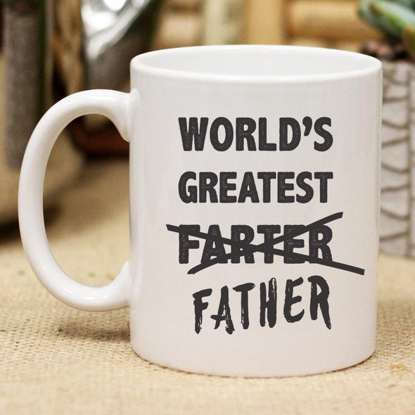 World's Best Farter, Father Mug