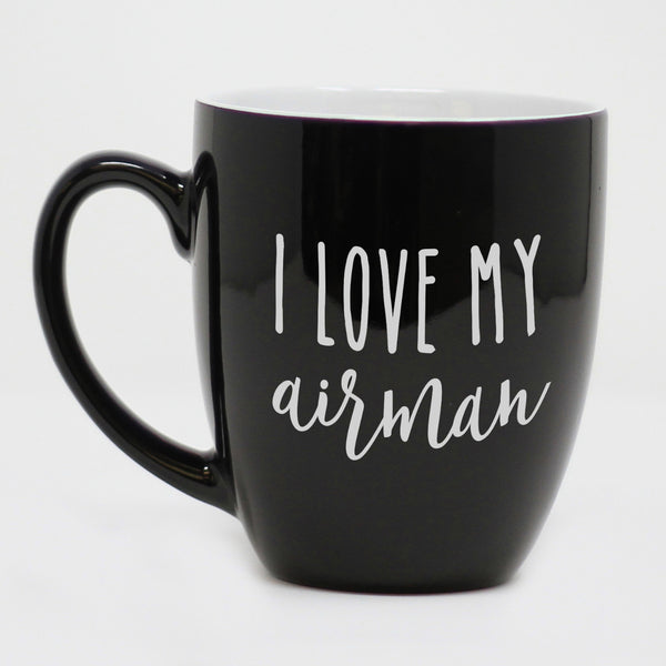 I Love My Airman Coffee Mug