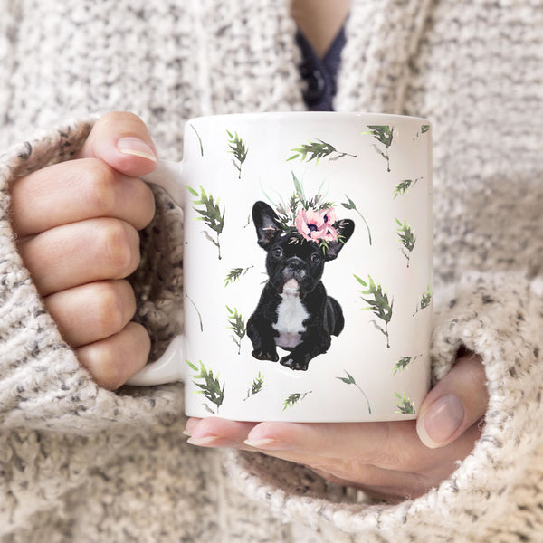 Cute Frenchie On A Coffee Mug