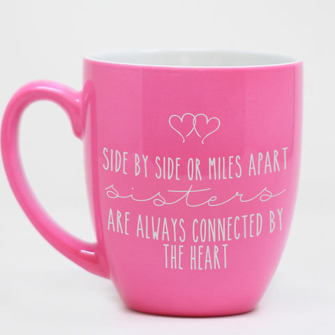 Side By Side Or Miles Apart Mug