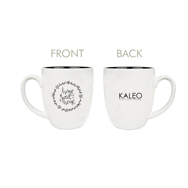 Custom Home Sweet Home Mug With Your Logo