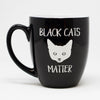 Halloween Coffee Mug - Black Cats Matter