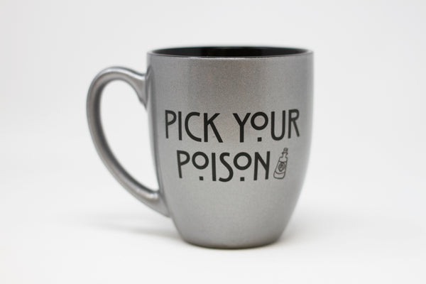 Halloween Coffee Mug - Pick Your Poison