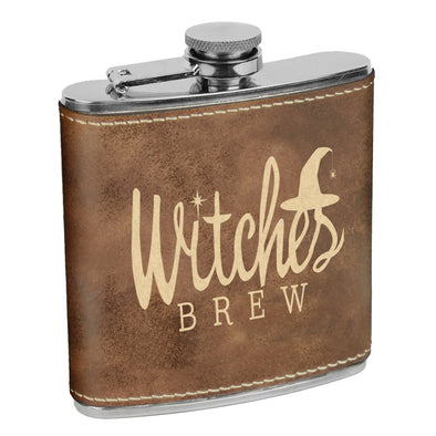 Witches Brew Flask, Halloween Flask, Funny Halloween Flask, Silly Halloween Flask