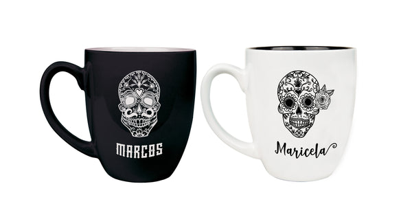 day of the dead mug set