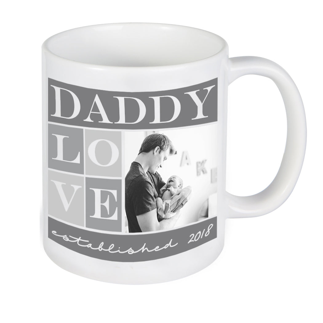 e22cb4e80a51b Custom Daddy Photo Mug, Personalized Photo Mug, Custom Mug, Picture Mug,  Custom Coffee Mug, Personalized Coffee Mug, Personalized Photo Mug,