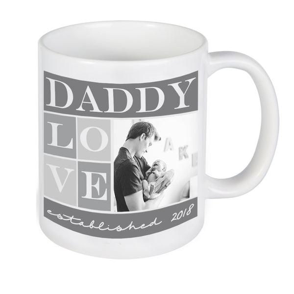 Custom Daddy Photo Mug, Personalized Photo Mug, Custom Mug, Picture Mug, Custom Coffee Mug, Personalized Coffee Mug, Personalized Photo Mug,