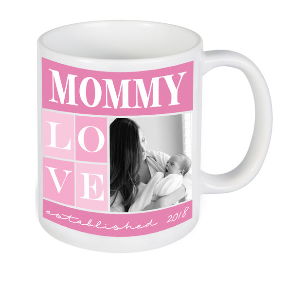 Custom Mommy Photo Mug, Personalized Photo Mug, Custom Mug, Picture Mug, Custom Coffee Mug, Personalized Coffee Mug, Personalized Photo Mug,