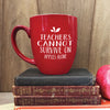 Teacher Gift, Teacher Mug, Custom Teacher Mug, Teacher Appreciation