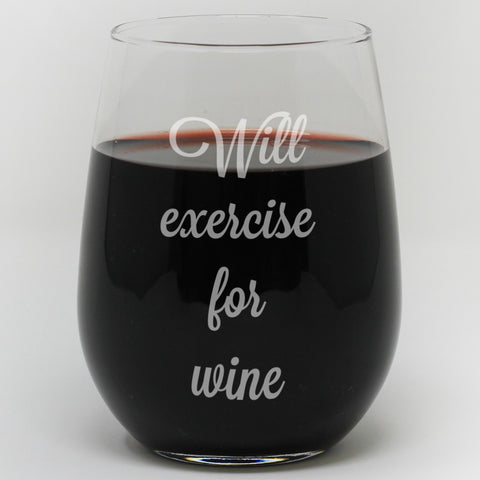Will Exercise For Wine