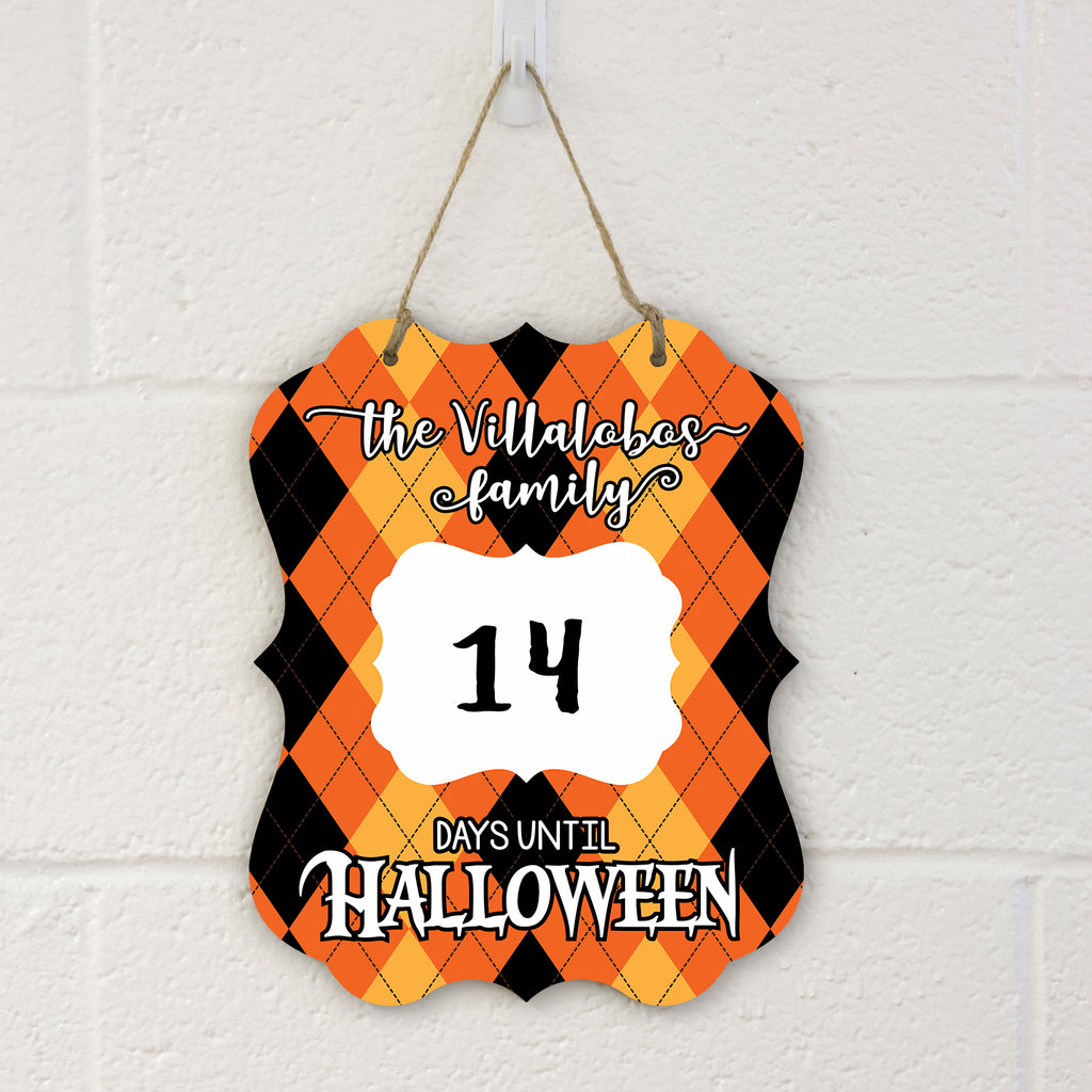 Countdown to Halloween Sign