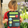 Reusable Boys First Day Of School Whiteboard Sign