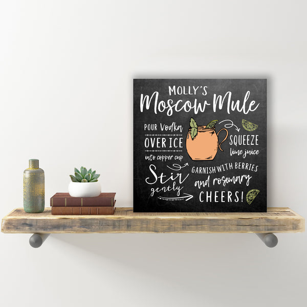 How To Make A Moscow Mule Sign