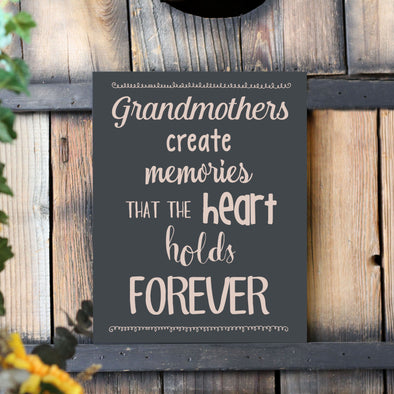 Grandmothers Create Memories