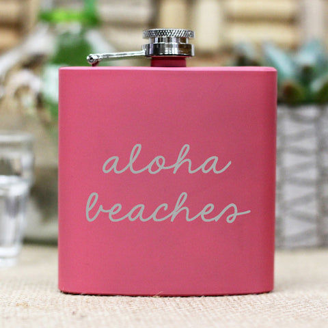 "Flask - ""Aloha Beaches"""