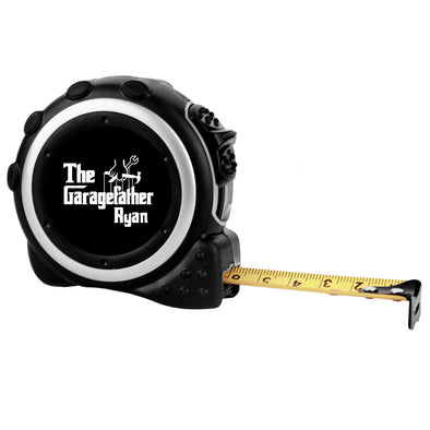 "Custom Tape Measure - ""The Garagefather"""