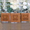 Personalized Groomsman Flasks