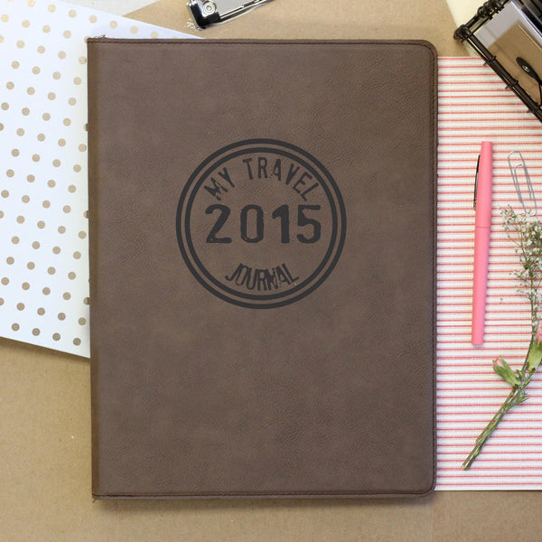 """My Travel Journal"" Personalized Notebook"