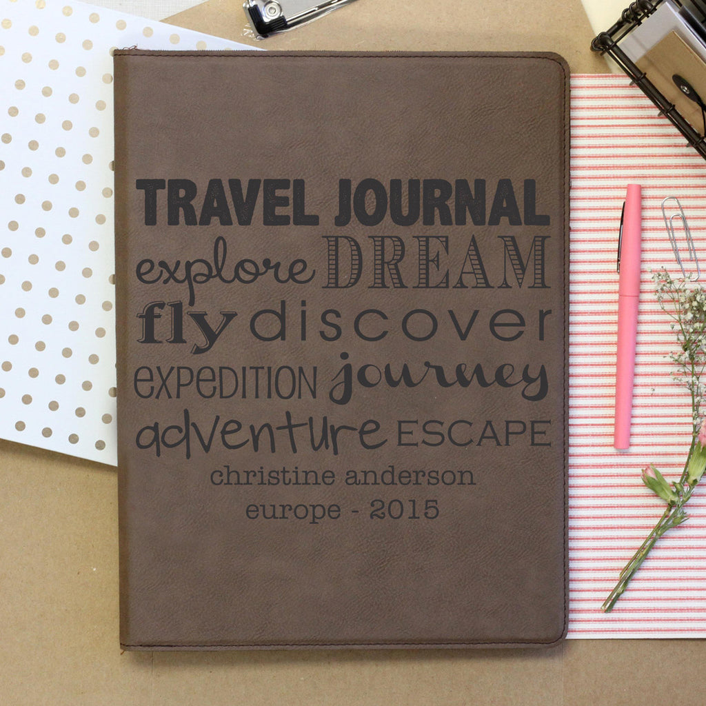 """Explore Dream Fly Discover"" Personalized Journal"