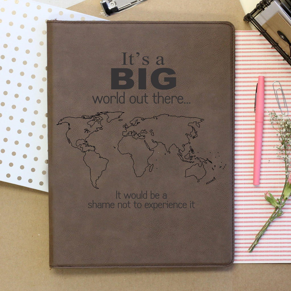 """Big World"" Notebook"