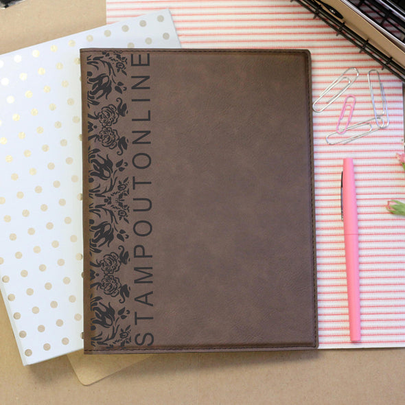 """Stampoutonline"" Personalized Notebook"