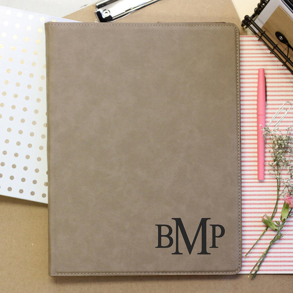 Personalized Initial Notepad