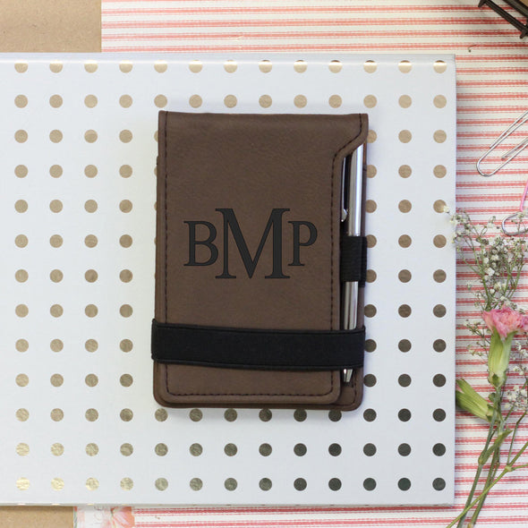 Personalized Initial Notepad, Journal