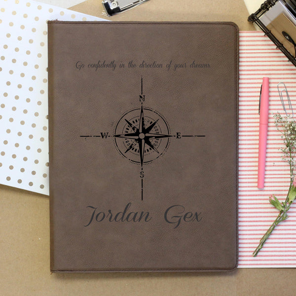 """Compass"" Personalized Notebook"