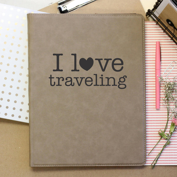 """I love Traveling"" Journal"