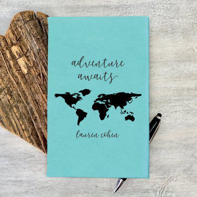 Personalized Journal, Notebook Adventure Awaits