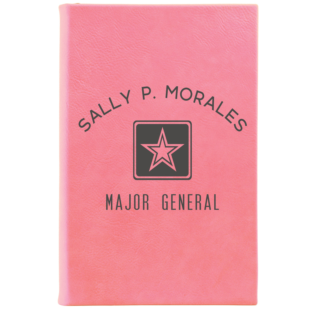 "Personalized Journal - ""Star Major General"""