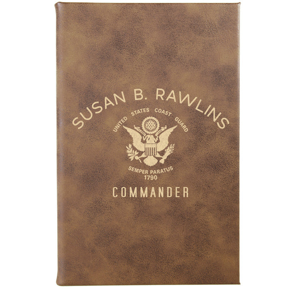 "Personalized Journal - ""Commander"""