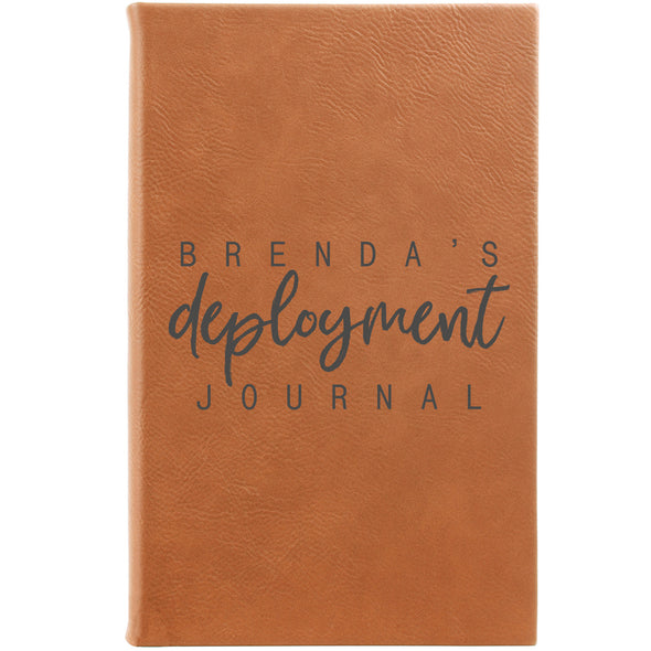 Personalized Journal, Notebook, deployment, military