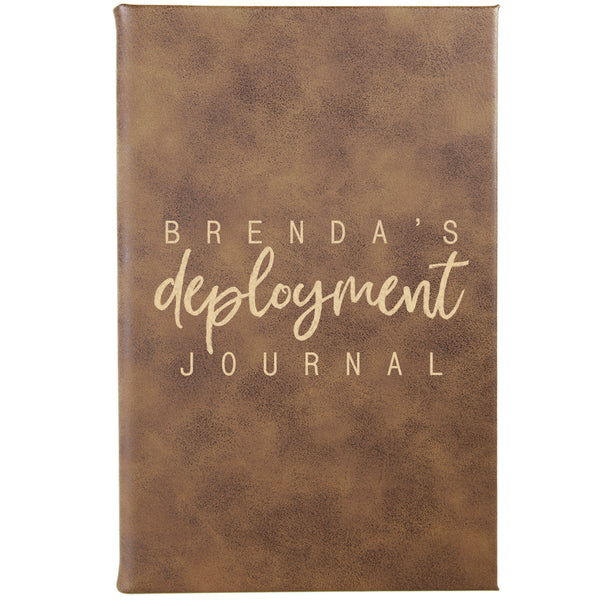 "Personalized Journal - ""Deployment"""