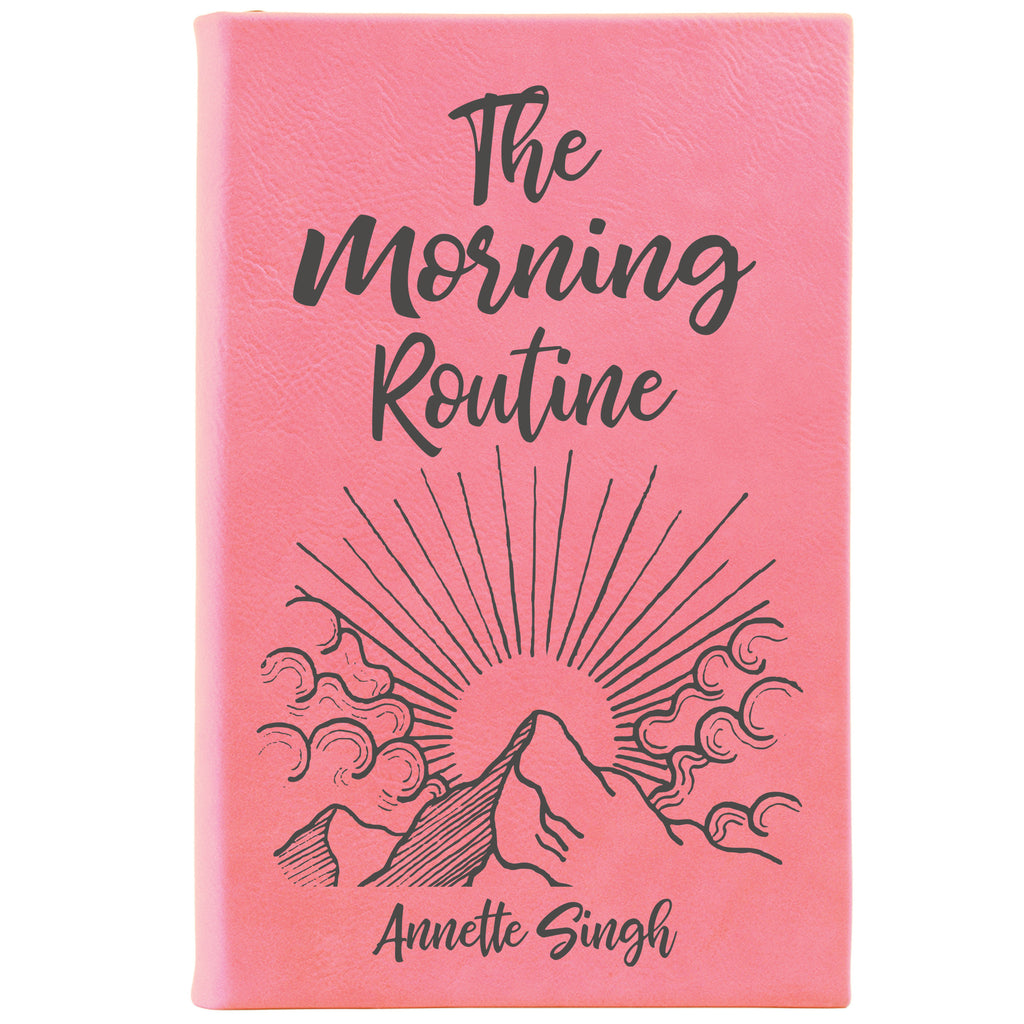 "Personalized Journal - ""The Morning Routine"""
