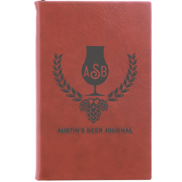 "Personalized Journal - ""Beer Journal"""