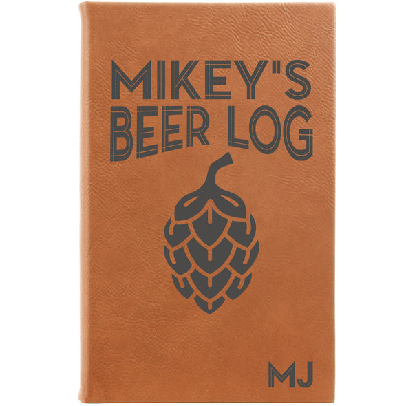 "Personalized Journal - ""Beer Log"""