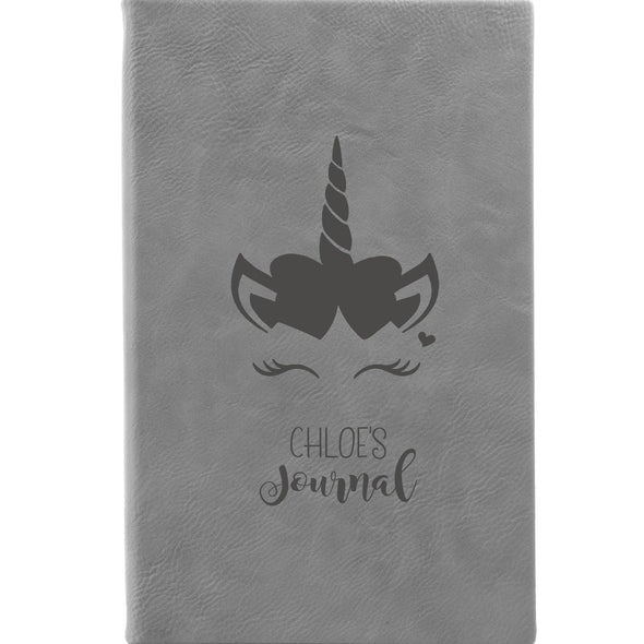 Personalized Journal, Notebook, Unicorn