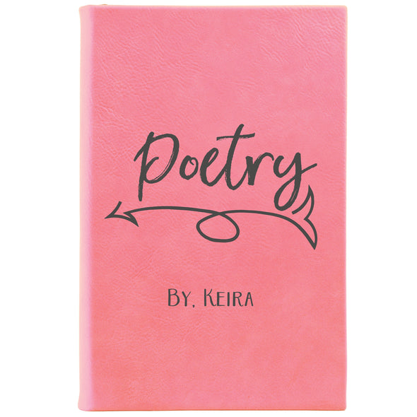 Personalized Journal, Notebook Poetry
