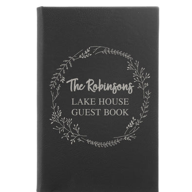 Personalized Journal, Notebook, Guest Book