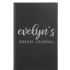 "Personalized Journal - ""Dream Journal"""