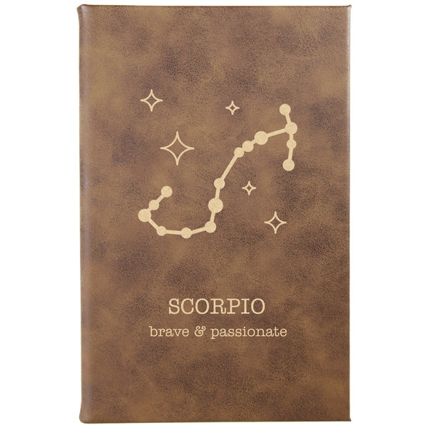 "Personalized Journal - ""SCORPIO"""