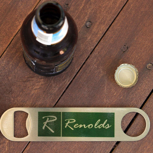 "Bottle Opener - ""Family Name"""